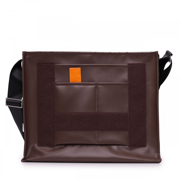 Messenger Bag - individualisierbar - Nomadin - braun - 1