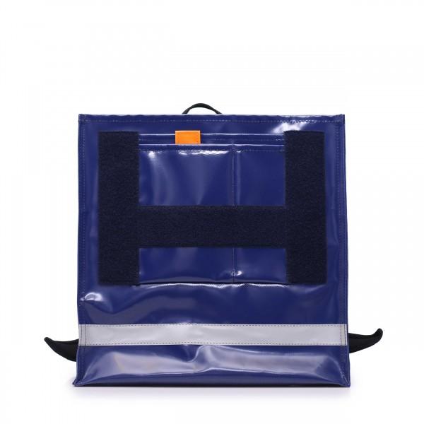 Schulranzen - selbst designen - aus Plane - Athletin - mitternachtsblau - 1