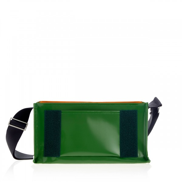 "Diaper bag - customizable - ""Ward"" - green - 1"