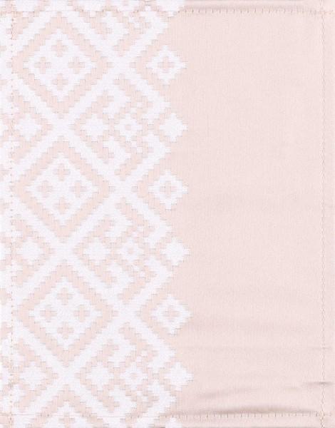 Wechselcover für Handtasche - Ikat beige - beige/weiß - Größe S