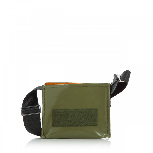 Handbag - with changeable flap - night owl - olive - 1