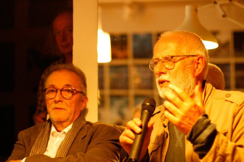 Günter Jordan, Thomas Neumann und Willi Bergholz bei tausche