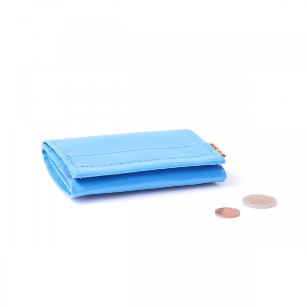 "Purse - ""miser"" - truck tarpaulin - blue - 1"
