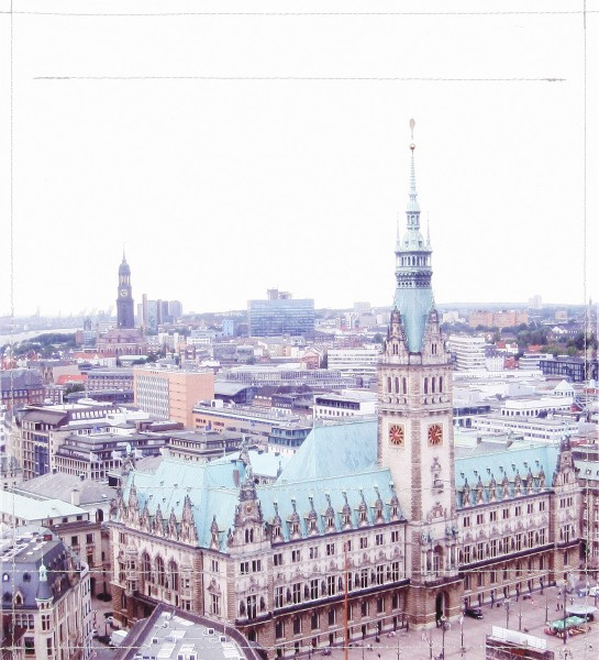 Deckel M - Rathaus Hamburg