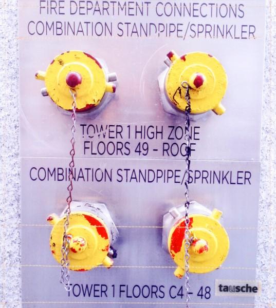 Wechseldeckel für Kuriertasche - Sprinkler - Foto - Größe M