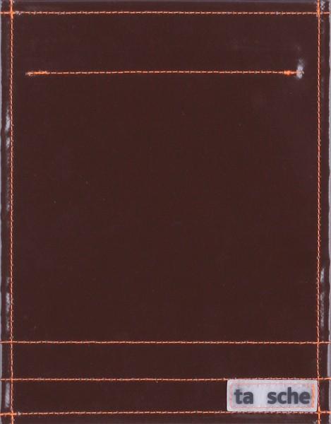 Wechselklappe für Tasche/Rucksack - Pur - braun - Größe S
