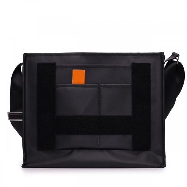Laptoptasche - individualisierbar - Nomadin - schwarz matt - 1