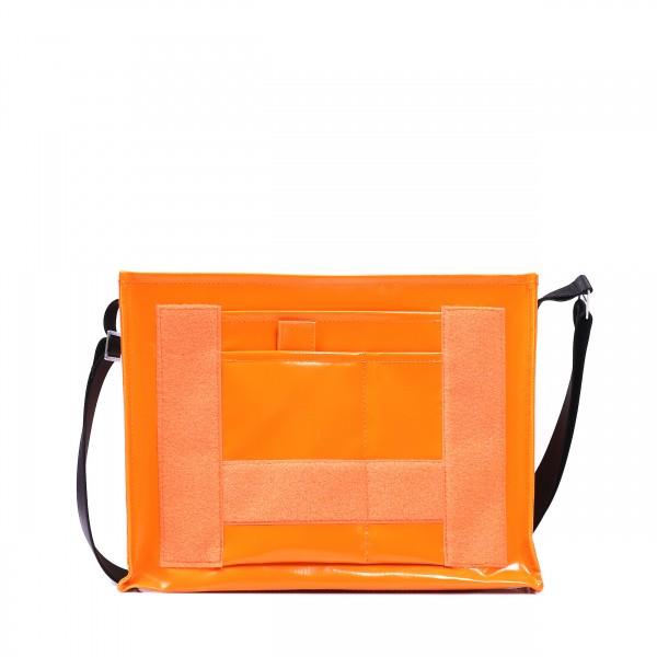Umhängetasche - zum selbst Zusammenstellen - Tagediebin - orange - 1