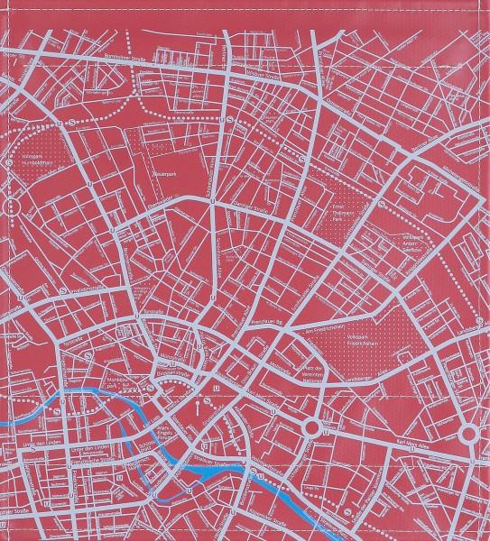 Deckel M - Stadtplan burgunder