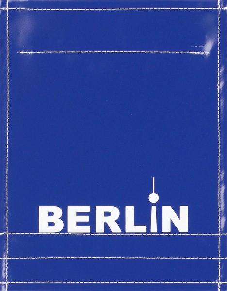 Wechseldeckel für Tasche/Rucksack - Berlin - blau/weiß - Größe S
