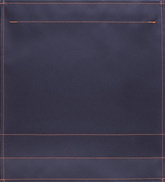 Wechselklappe für Tasche - Plane pur - schwarz - Größe M