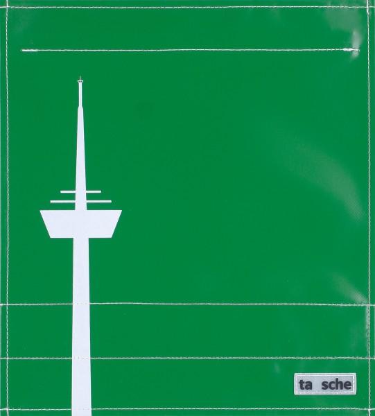 Deckel M - Köln Turm grün/weiß