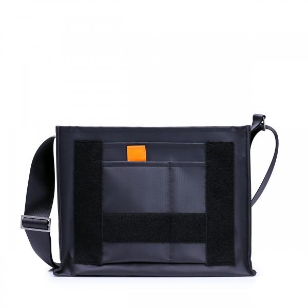 Umhängetasche - selbst designen - Tagediebin - schwarz matt - 1