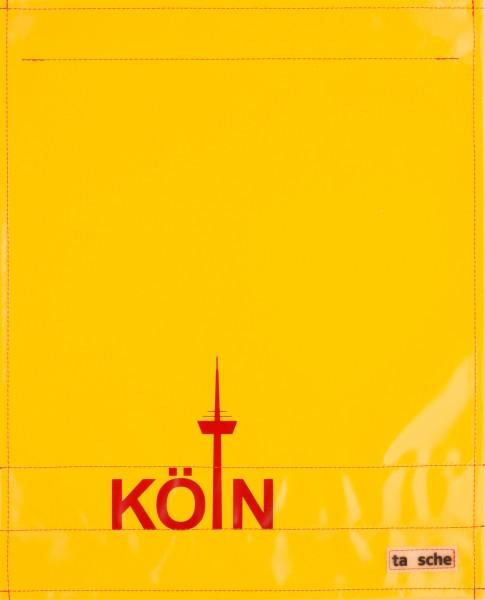 Wechselcover für Kuriertasche - Köln - gelb/rot - Größe L