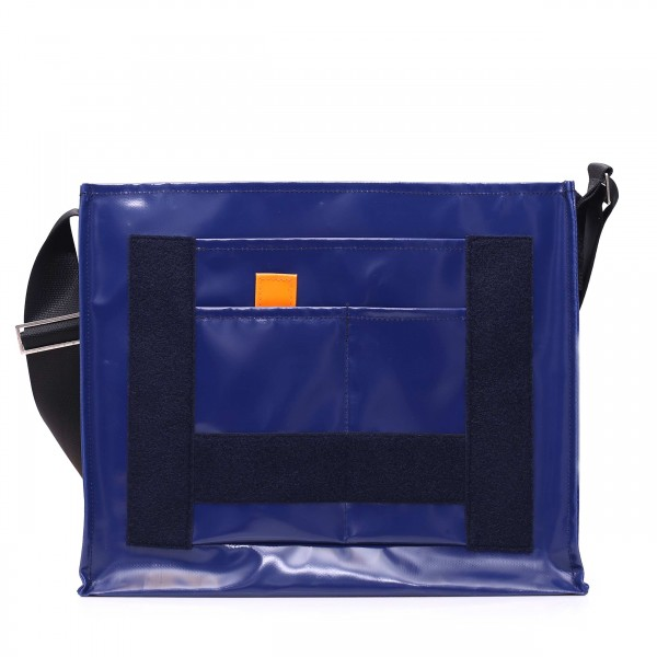 Messenger Bag - with exchangeable flap - Nomadin - dark blue - 1