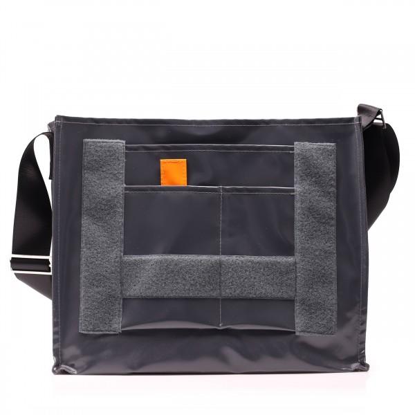 Messenger Bag - wandelbar - Nomadin - anthrazit - 1