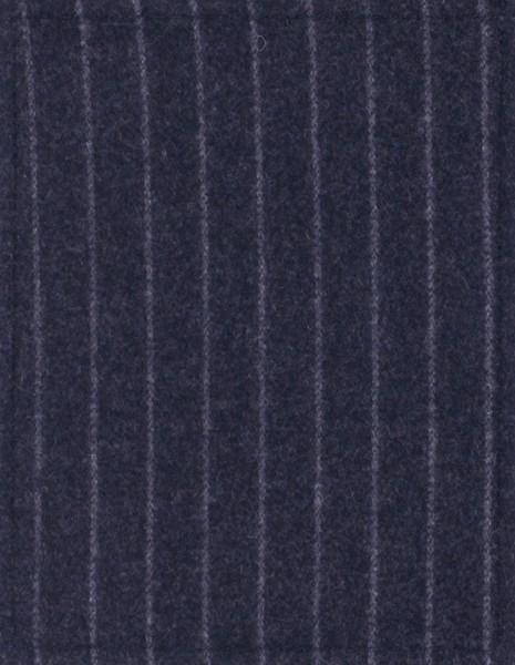 Deckel S - Nadelstreifen schwarz