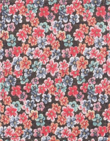 interchangeable cover for handbag - little flowers - red - size S