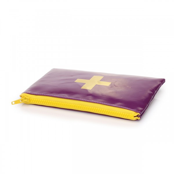 Accessoire - Lebensretter violett/gelb
