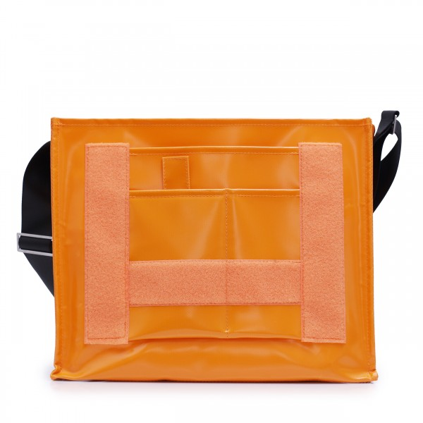 Messenger Bag - individualisierbar - Nomadin - orange - 1