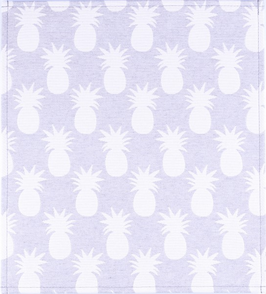 Exchangeable lid for bag - Pineapple - grey/white - size M
