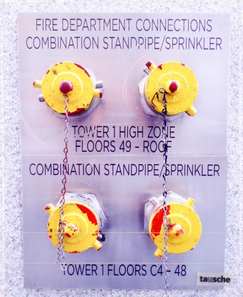 Exchangeable cover for bag - Sprinkler connection WTC1 - yellow - size L