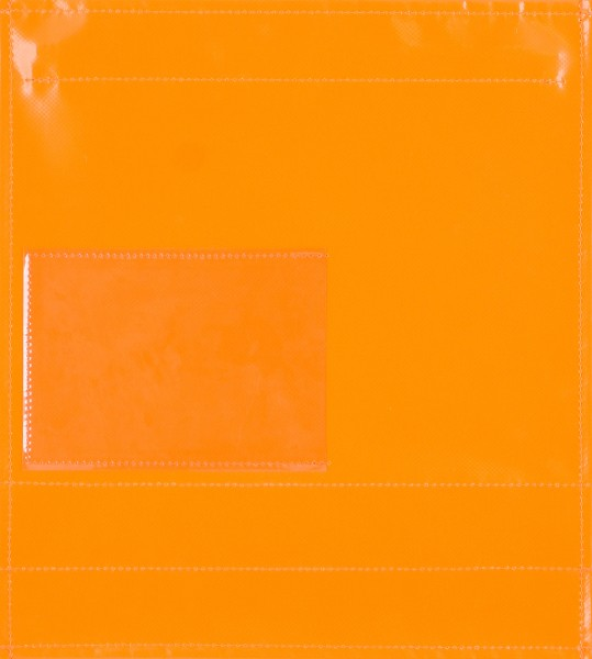 Exchangeable cover for bag - window cover - orange - size M