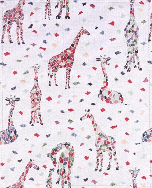 Wechselklappe für Umhängetasche - Giraffe - beige - Größe L