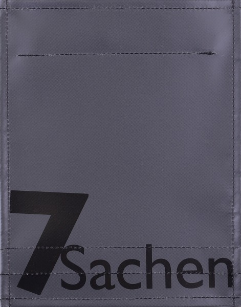 Exchangeable lid for bag - 7 things - anthracite - size S
