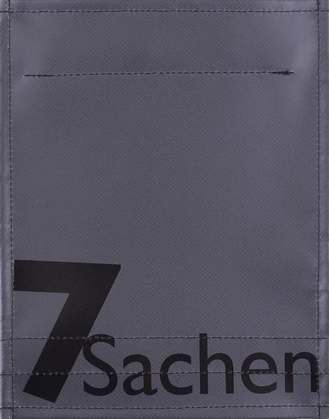 Wechseldeckel für Tasche - 7 Sachen - anthrazit - Größe S
