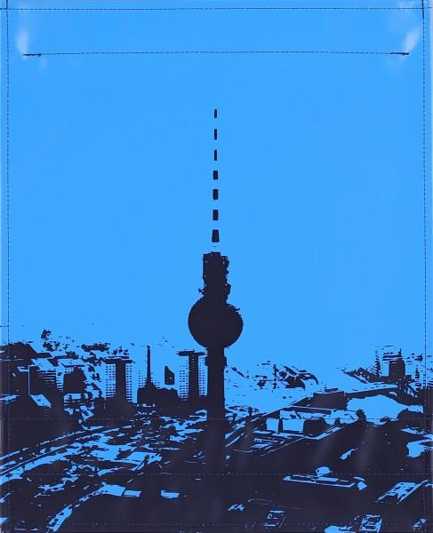 Flap L - City Skyline Berlin blue/dark blue