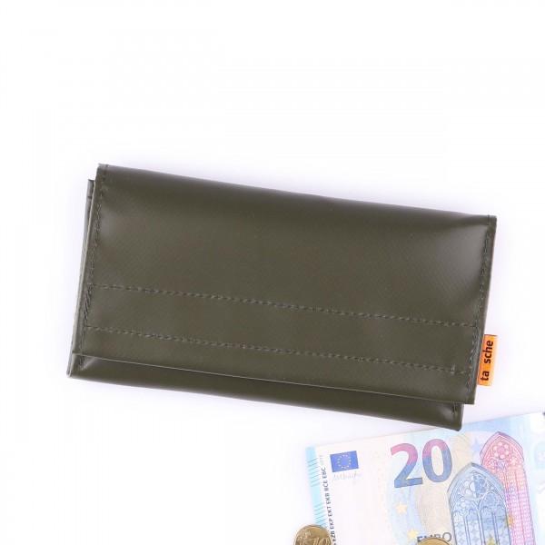 Portemonnaie - LKW-Plane - Millionär - oliv - 1