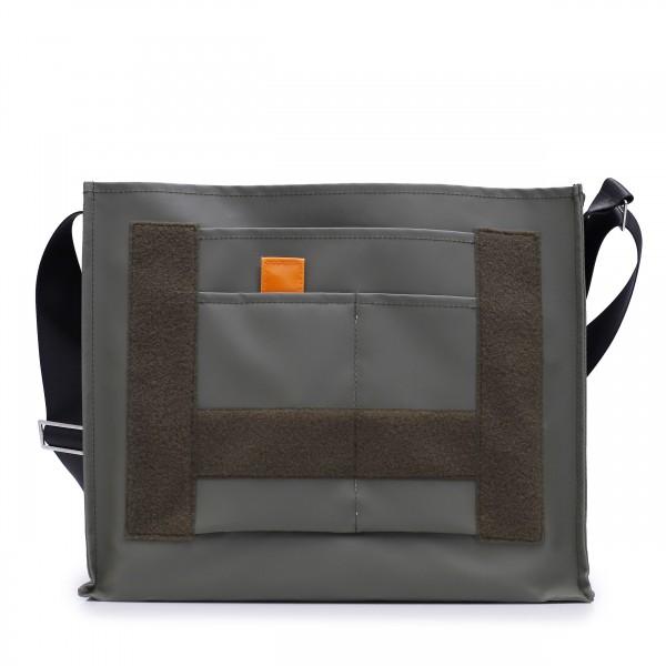Messenger Bag - individualisierbar - Nomadin - oliv - 1