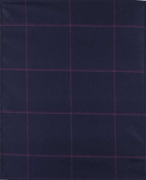 Exchangeable flap for shoulder bag - glitter idea - dark blue - size L
