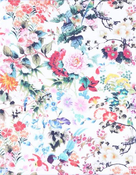 Deckel S - Vögel & Blumen