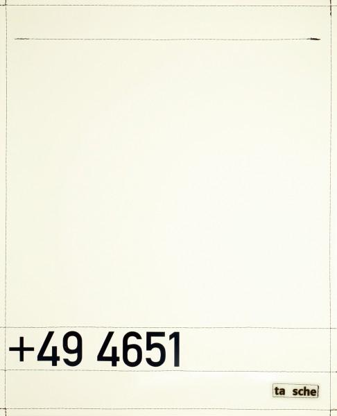 Wechselklappe für Tasche - Vorwahl Sylt - Fotodruck - Größe L