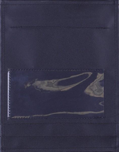 Exchangeable flap for shoulder bag - Insertion window - black - Size S