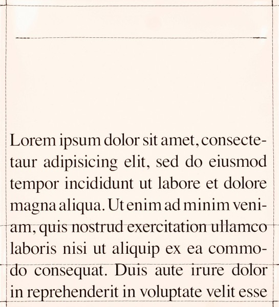 Deckel M - Lorem Ipsum