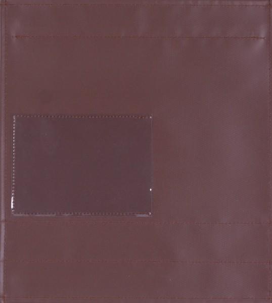 Deckel M - Fensterdeckel braun