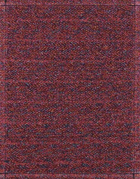 Wechseldeckel für Schultertasche - Multiglitzer - rot - Größe S