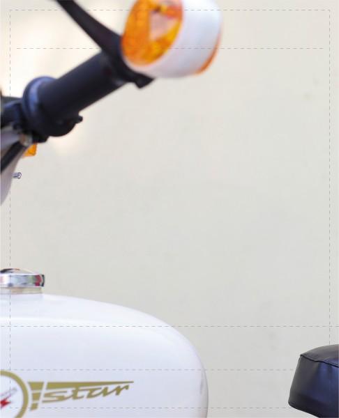 Wechselcover für Umhängetasche - Star/Simson - Fotodruck - Größe L
