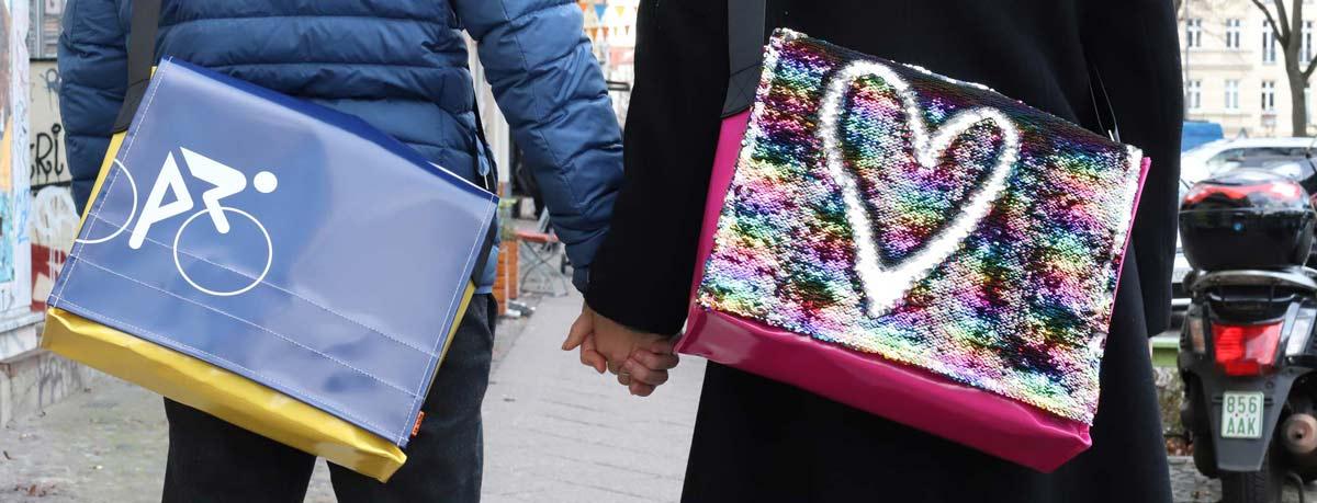 tausche-Taschen-Freunde-Aktion