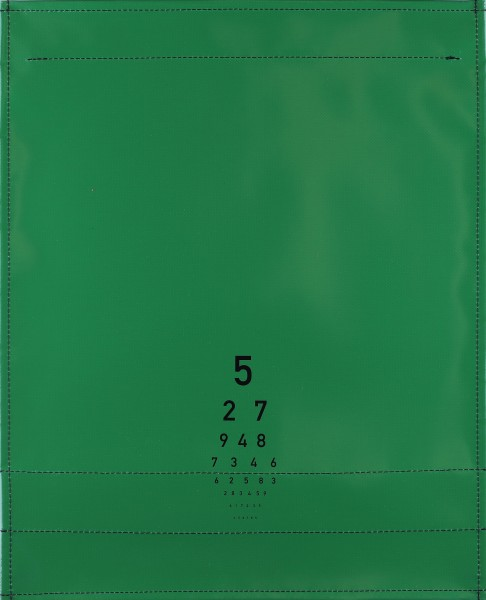 Exchangeable cover for shoulder bag - Optician - green - size L