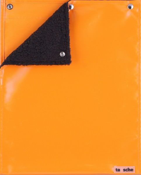 Deckel L - Sitz-/Wickeldeckel orange