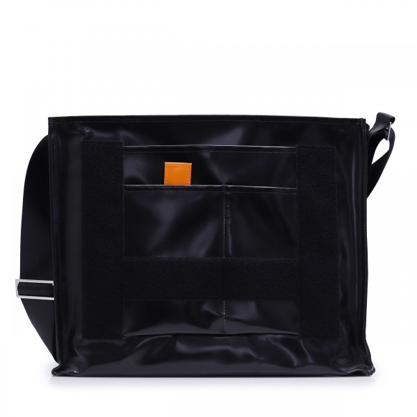 Laptop bag - customizable - Nomadin (nomad) - black shiny - 1