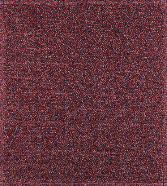 Wechseldeckel für Schultertasche - Multiglitzer - rot - Größe M