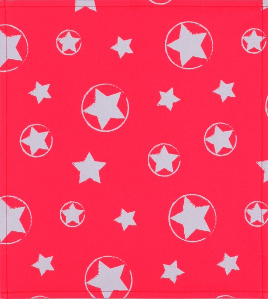 Exchangeable Lid for Bag - Reflecting Stars - red - Size M