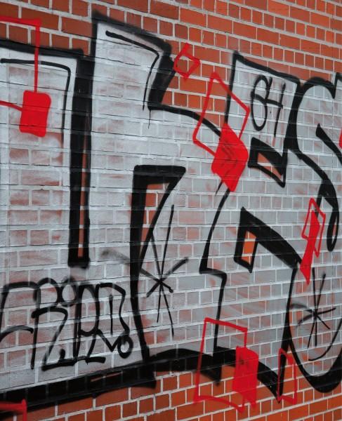 Deckel L - Graffiti Lüneburger