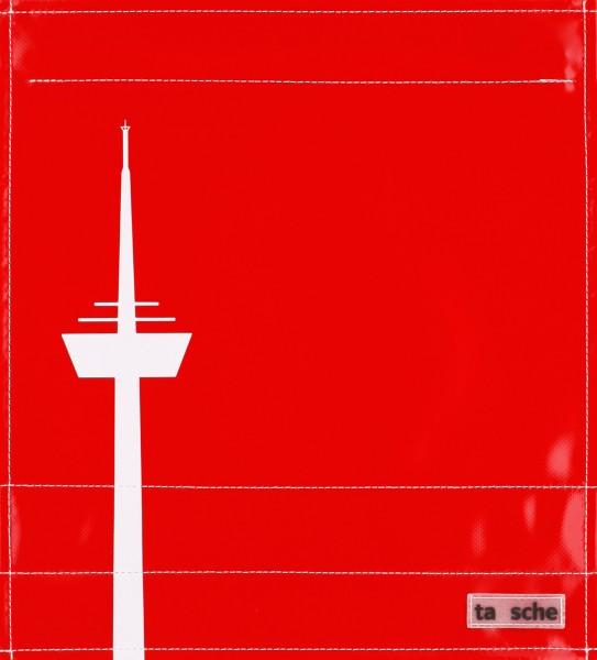 Deckel M - Köln Turm rot/weiß