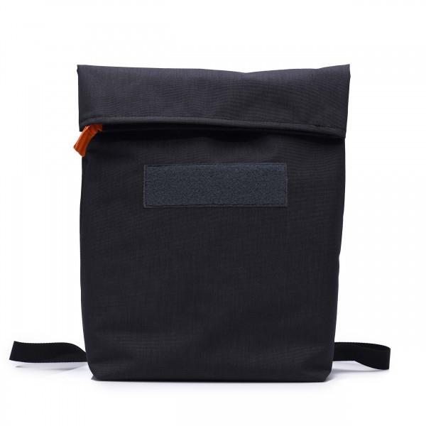 Backpack and shoulder bag - customizable - »Senatorin« (senator) - granite - 1